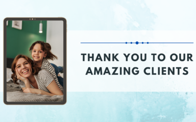 Thank You To Our Amazing Clients Who Use Our Residential Cleaning Services
